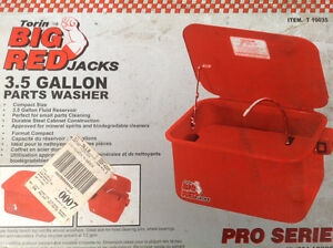 3.5 gallon parts washer new in box Belleville Belleville Area image 1