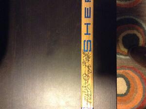 1975-76 Team autographed Kitchener Rangers hockey stick