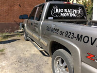 Professional Rates, deliveries, moves, packing services