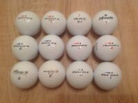 12 PINNACLE GOLF BALLS