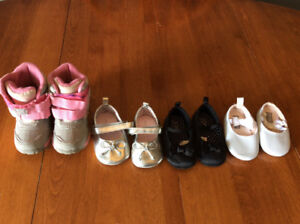 Toddler Girl Size 4 boot and shoe lot