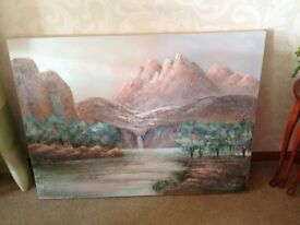 Canvas Acrylic Painting