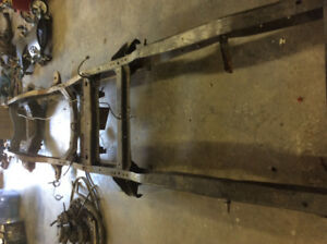 Short box frame for 1976 Chev C10 2 wheel drive
