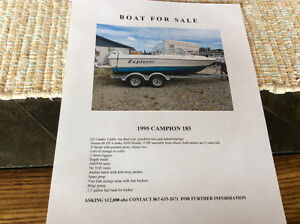 Boat For Sale 1995 Campion 185