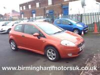 2007 (07 Reg) Fiat Punto 1.4 ACTIVE SPORT 3DR Hatchback ORANGE + LOW MILES