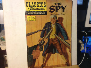 1963 CLASSICS ILLUSTRATED #51 VG 4.0 The Spy James Fenimore Coop