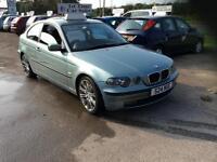 BMW 320 2.0td 2002MY td SE Compact