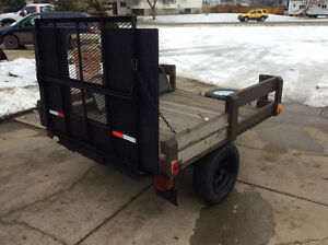 QUAD,UTILITY TRAILER(DROP GATE) SHERWOOD PARK AREA