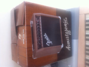 REDUCED PRICE Brand new Fender  Acoustasonic 15 Amp