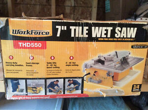 Very good wet tile saw