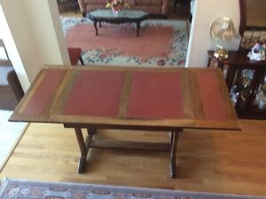 VINTAGE oak expandable table