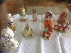 Collection de bibelots BEATRIX POTTER'S