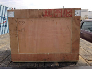 Wood Shipping Crate