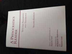 A Presocratics Reader 2nd Edition