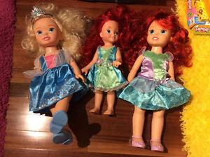 Three Disney Princesses