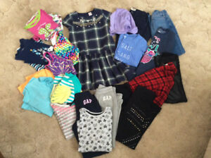 Size 10-12 girls clothing - huge lot (2 pictures)