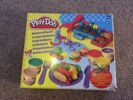 Assorted play doh