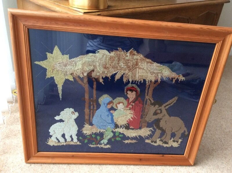 Nativity Scene -Cross stitch