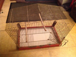 Vintage bird cage , solid , only 25 dollars