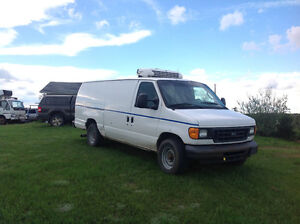 E350 Ford Thermo king reefer cargo van diesel auto