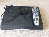Sky+ HD box, cable and remote