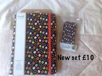 Tablet case & iPhone case - both new