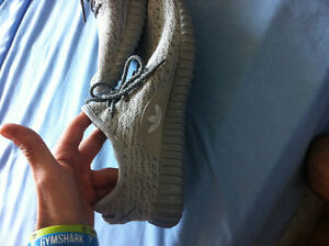Yeezy Shoes Light Grey Knockoff/Fake - Size 9 US