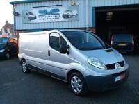 2012 62 RENAULT TRAFIC 2.0 DCI LWB IN SILVER SAME AS VIVARO PRIMASTAR CHOICE OF