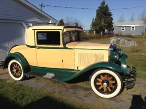 FOR SALE:  1931 DURANT RUMBLE SEAT COUPE.  **NEW PRICE**
