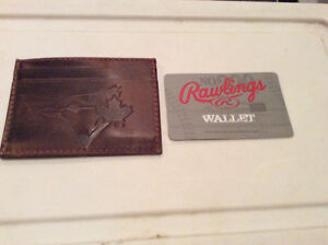 Brand new Blue Jay leather wallet/card case