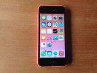 Pink Iphone 5c 16 gb IOS 10