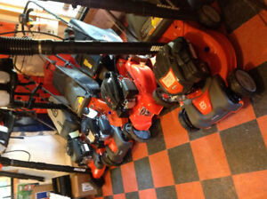 All New in Stock Pushmowers and Self Proppelled at reduced price