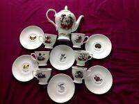 Hendricks Gin 13 Pieces Tea Set (Limited Edition) - rare