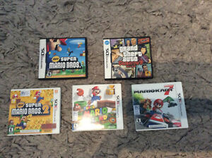 Nintendo 3DS and DS Games For Sale London Ontario image 1
