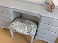 Shabby to Chic - Ducal, quality dressing table and stool