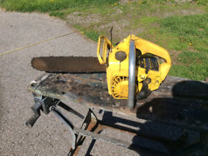 """VINTAGE McCULLOCH """"MINI MAC 25"""" CHAINSAW. PARTS ONLY!"""