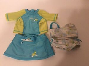 American Girl Swimsuit Set - 4 Pieces London Ontario image 1