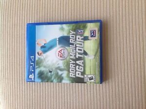 PS4 RORY PGA GOLF GAME
