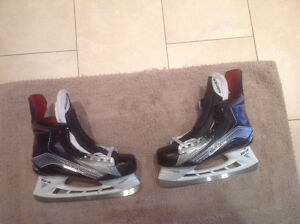 Bauer 1X pro stock skates NEW - NEVER WORN & used helmet