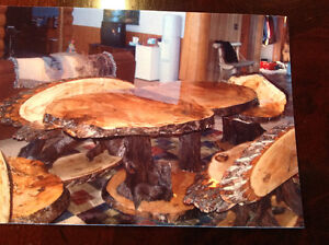 1 of a kind burl table