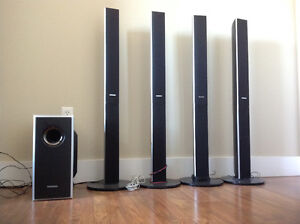 Samsung Home Theatre 5.1 surround package speaker and Subwoofer
