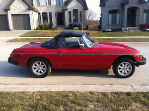 1979 MGB with only 49,000 kms !!!