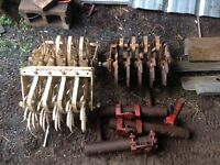 3 Tillers with Mounting Brackets