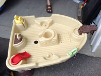 Little tikes pirate ship water table