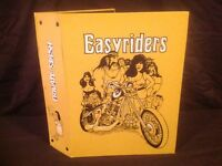 EASYRIDERS MAGAZINES AND 8 PRIVATE STASH BINDERS (1978 to 1985)