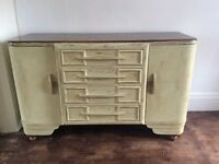 Ercol 1930s sideboard, cupboard, drinks cabinet - shabby chic