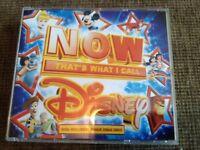 Disney NOW Music CD's