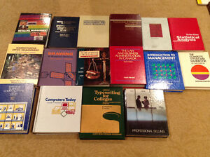 Business text books for sale