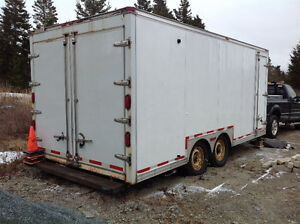 20' insulated cargo trailer