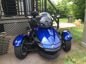 Can Am Spyder RS Manuel 2010